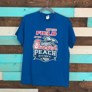 Men's Gildan Chick-fil-A Peach Bowl On the Field T